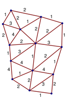 A spin network