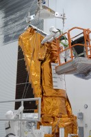 Cables being attached to Kepler