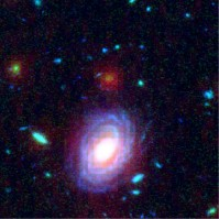 A young but heavy galaxy