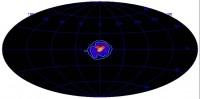 Gamma-rays from electron-positron annihilations in center of Milky Way